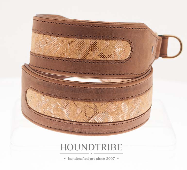 WIDE LEATHER COLLARS