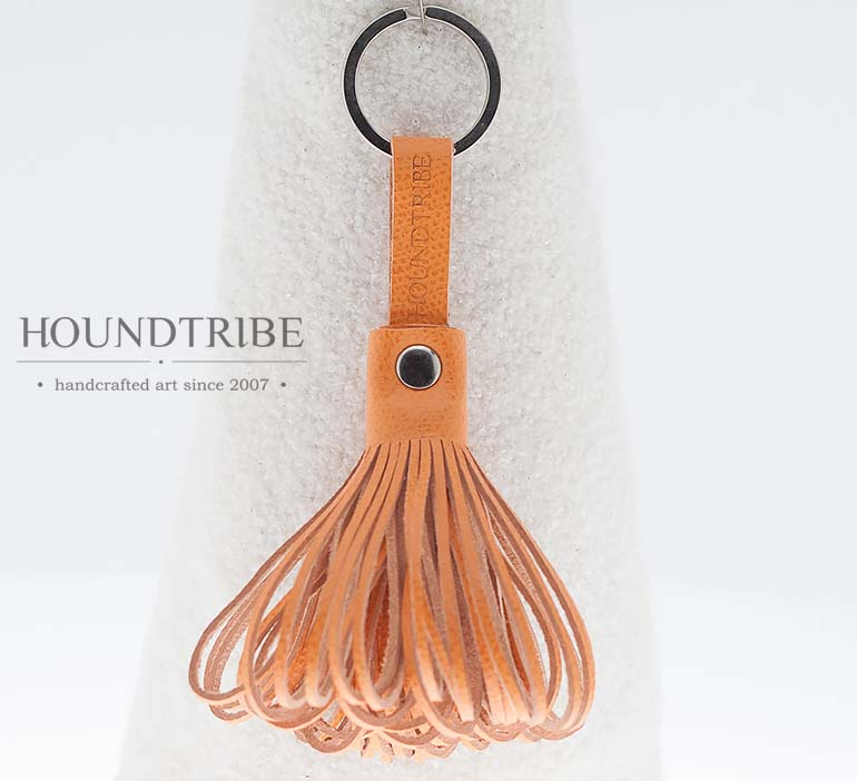 Oktopus Orange Leather Keyring 1168. € 19 ... d6882644dda1