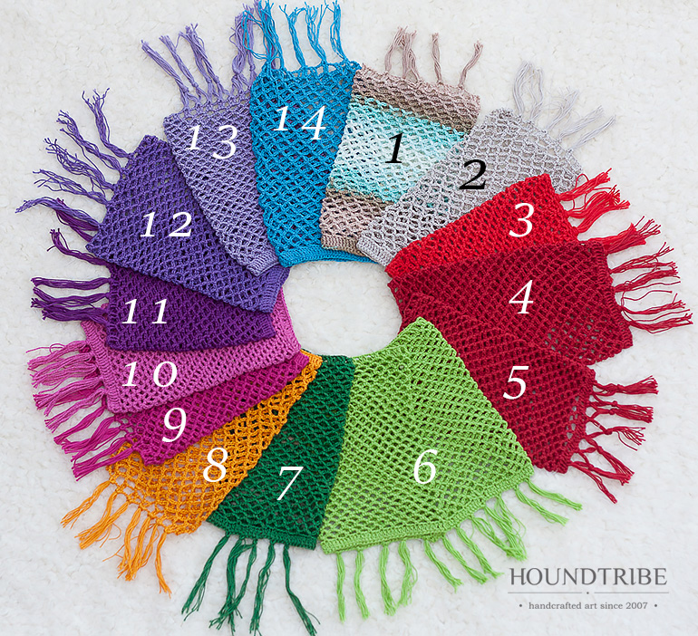 Houndtribe saluki snood